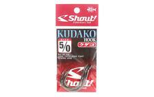Shout 06-KH Kudako Power Jigging Single Hook Black Size 5/0 (9509)