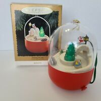 Hallmark Keepsake Magic Ornament 1995 Jumping for Joy Mice - #QLX7347 Christmas
