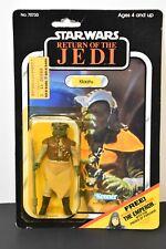 Star Wars Klaatu 65C MOC Sealed~ ROTJ Return of the Jedi ~ Kenner 1983