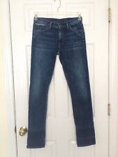 GOLDSIGN for J.CREW Jenny Selvedge Jeans Debut Wash Sz 27 16981 $288