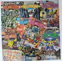 Millennium #1 2 3 4 5 6 7 8 DC Comics Lot Steve Englehart VF/NM
