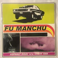 "FU MANCHU Asphalt Risin' b/w Chevy Van 7"" (red) vinyl single Nebula QOTSA Kyuss"