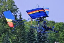 Quicksilver Mx-2 Hang Glider Ultralight Aircraft Desktop Kiln Wood Model Small