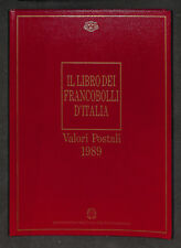 Il Libro dei Francobolli d'Italia 1989