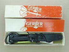 1981 Vintage Gerber Mark II Knife w/ Box, Sheath, Etc. * Superb Condition *