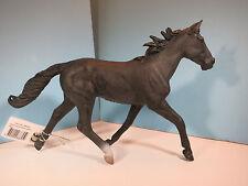 CollectA Figurine-Standardbred Pacer Stallion Horse-Black-New