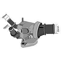 TRIDON Std Thermostat For SAAB 9-3 Turbo Diesel 01/07-12/10 1.9L Z19DTH