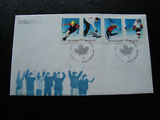 CANADA - enveloppe 1er jour 25/01/2002 (cy86)