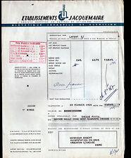 """VILLEFRANCHE-sur-SAONE (69) DIETETIQUE ENFANT / LAIT """"JACQUEMAIRE"""" en 1954"""