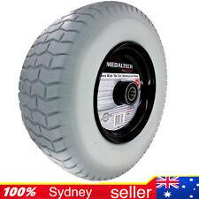 "16""x6.5-8 150mm Wide 25mm Bore Solid Tyre Wheelbarrow Wheel PunctureProof Barrow"