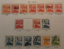 Timbres France Pour Colis Postaux (petits colis)Série 31/47 oblitérée sauf 39abs