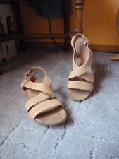 Bama Sandale Zehentrenner Damen weiß Gr 39
