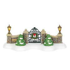 Dept 56 Alpine 2018 Village Gate #6000568 Nib Free Shipping 48 States