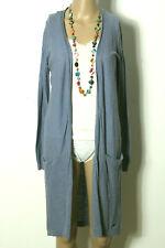 edc by ESPRIT Strickmantel Gr. XS jeans-blau Strickmantel/Cardigan mit Taschen