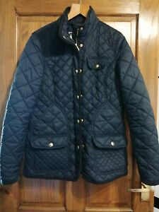 Ladies Joules Marnavy Size 12 Padded Jacket