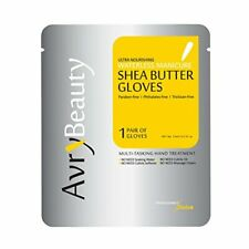 Avry Ultra Moisturizing Waterless Manicure Nourishing Gloves  SHEA BUTTER 4 prs