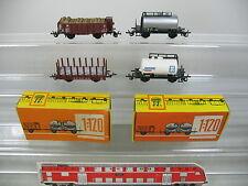 am16-0,5 #4x ZEUKE TT / DC wagons de marchandises bricoleur: 545/90 Dr + 4419