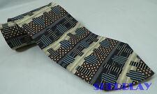 """J. Riggings 100% Silk Men's Multi-Color Neck Tie 57"""" x 3 1/2"""" Classic Wide"""