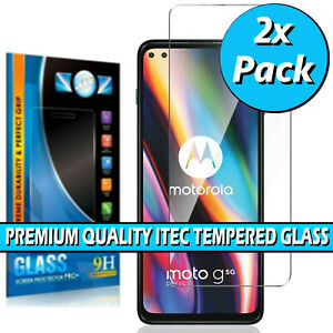 For Motorola Moto G 5G Plus Gorilla Tempered Glass Screen Protector Cover