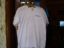 """EAT-RITE DINER, """"EAT-RITE OR DON'T EAT AT ALL"""", MADE IN USA, L, POCKET T, OK!"""