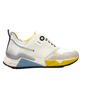 DIESEL S-Brentha LC Mens Star White Fashion Athletic Sneaker Size 10.5 New
