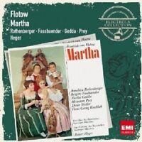 ROTHENBERGER/GEDDA/PREY/HEGER - MARTHA 2 CD NEU FLOTOW,FRIEDRICH VON