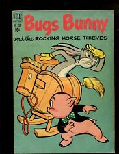 "BUGS BUNNY #338 (4.0) ""Bugs Bunny and The Rocking Horse Thieves""~DELL FOUR COLOR"