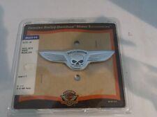 Genuine Harley Davidson Motor Accessories Skull with Wings Medallion
