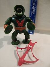 He-Man Masters Universe LEECH Loose Complete Red Bow Variant Tight Stands Holds