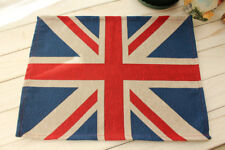 "13x18"" UK British Flag Union Jack Tapestry Placemat Dining Table Kitchen Mat"