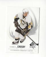 2009-10 SP Authentic #87 Sidney Crosby Penguins
