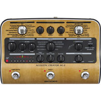 New Zoom AC3 Acoustic Creator Enhanced Direct Box Dealer Warranty Make Offer!