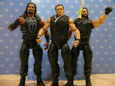 WWE MATTEL ELITE SERIES FLASHBACK WRESTLING FIGURES 3-PACK - THE SHIELD