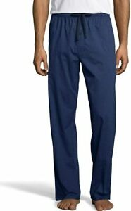 Hanes Men's Woven Stretch Plaid Pant, Comfort Flex Style 02000 Large