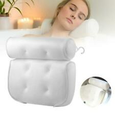 Bath Pillow | 4 Suction Cups | Relaxing Neck, Back and Shoulder Support