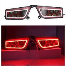 FOR 16-18 POLARIS GENERAL 1000 -RED LED HALO HEADLIGHTS 15-18 POLARIS RZR 900&S