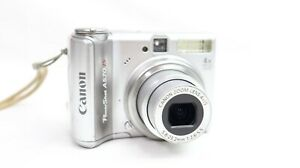 Canon PowerShot A570IS ~ 7.1MP 4x Zoom ~ Digital Camera  ~ Silver ~