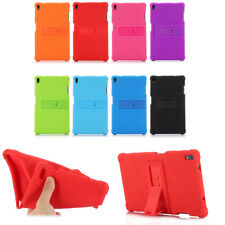"Stand Silicone Protective Cover Case For Lenovo Tab4 Plus TB-8704N/F 8"" Tablet"