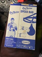 Rocky Marciano Roberts Speed Bag (Box Only) Rare