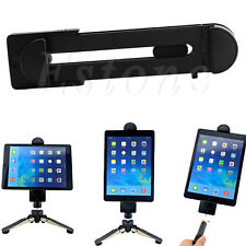 "Tripod Mount Holder Bracket 1/4""Thread Adapter for 3~13"" Tablet iPad Universal"