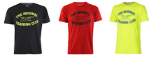 Asics Men's T-Shirt Training Club Sanded Short Sleeve T-Shirts - New