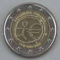 2 Euro Italien 2009 10 Jahre WWU unz