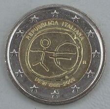 """2 Euro Italien 2009 """"10 Jahre WWU"""" unz"""