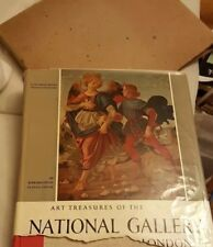 ART TREASURES OF THE NATIONAL GALLERY LONDON. ABRAMS, 1ST EDITION. 1955
