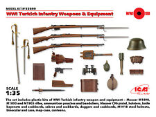ICM 1/35 WWI Turkish Infantry Weapons & Equipment # 35699