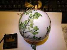 Smithsonian Goebel Christmas Ornament Mistletoe Kissing Ball