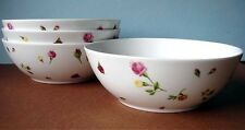 Royal Albert COUNTRY ROSE BUDS SET/4 All Purpose Bowl(s) Boxed New