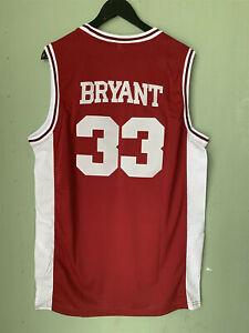 Men's #33 Kobe Bryant Lower Merion High School Retro Basketball Jersey