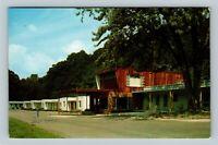 Parkersburg WV, Green Acres Motel, Chrome West Virginia Postcard