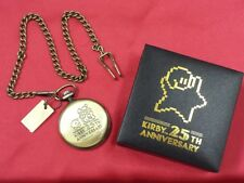NEW Nintendo HAL Kirby 25th Anniversary Pocket Watch Limited from Japan F/S